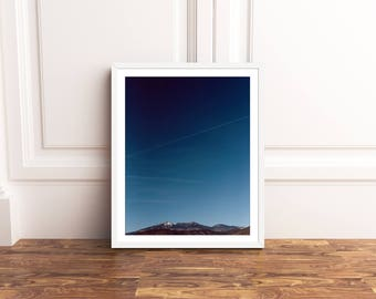 Humphreys Peak, Humphreys Peak Photography, Humphreys Peak Landscape Print, Northern Arizona Mountain Landscape