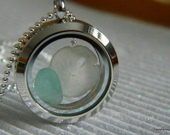 Bridesmaid Beach Necklace, Sea Glass, Starfish, Sea Shell, Beach Jewelry, Seyshelles Jewelry