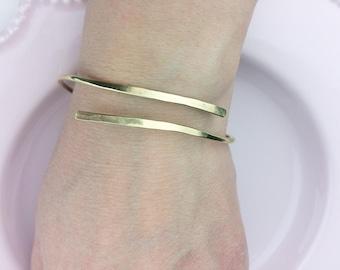 One wrap bracelet / Delicate stacking bracelet