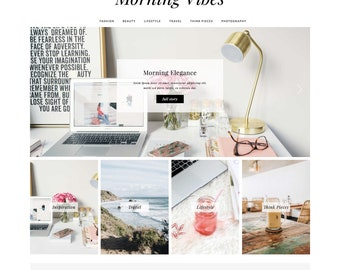 "Wordpress Theme ""Morning Vibes"" 