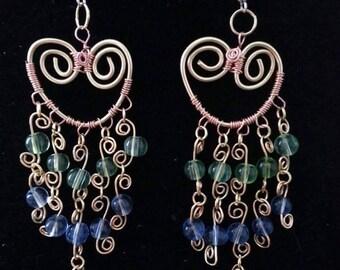 Gypsy earrings. Very elegant and artsy.
