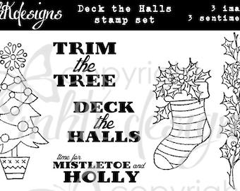 Deck the Halls Digital Stamp Set