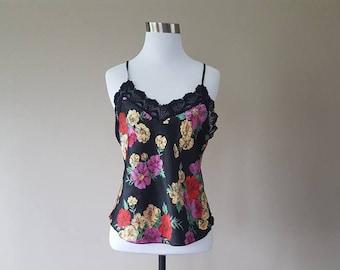 M / Victoria's Secret / GOLD LABEL / Camisole / Colorful Print / Medium