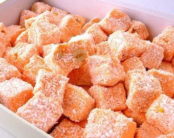 Orange & Nut  Turkish Delight ( Lokum ) (500 grams)