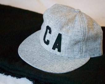 Limited Edition CA Gray and Black Wool Hat