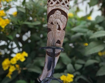 Jarl's Collection Viking Drinking Horn Viking Warrior