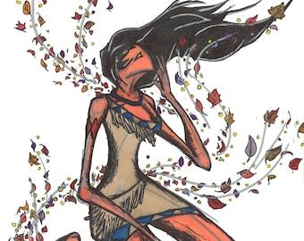 PRINT Pocahontas