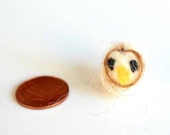 Needle Felted Miniature Owl