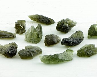 Moldavite Meteorite Gemstone - Stone born from Stardust