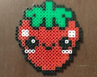 Kawaii Strawberry Beadsprites