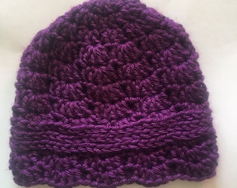 Baby girl flapper hat
