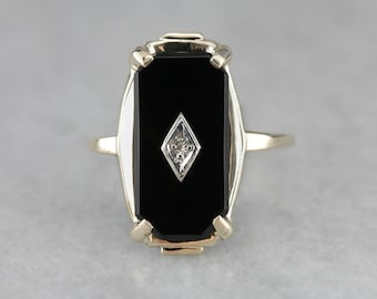 onix white black ring yx sparta gold rings modern onyx solitaire antique engagement carat