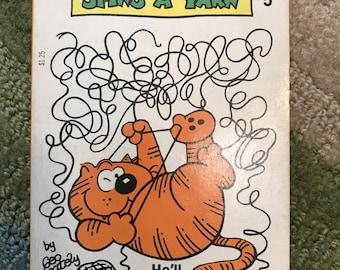 Heathcliff Spins A Yarn 1977 Vintage Comic Book Cat Kitties Kitty Feline Funny Paperback