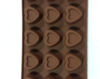 TAAVI Doubled Heart Silicone Candy Mold (T-804)