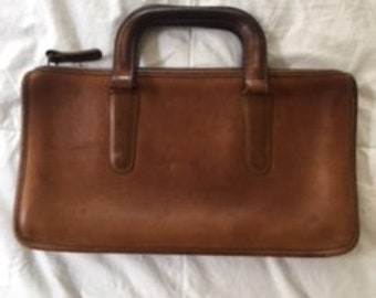 Vintage, Bonnie Cashin-era Coach mini-briefcase