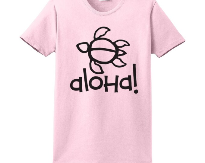 Aloha Turtle Hawaiian T-Shirts for the Whole Family
