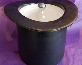 Vintage Top Hat Ice Bucket By Kraftware Inc.