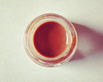 sandstone clay lip color • organic, vegan lipstick • cream pigment for lips or cheeks. subtle, soft, nutritious, handmade botanical makeup.