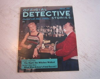Official Detective Stories March 1958 - high grade