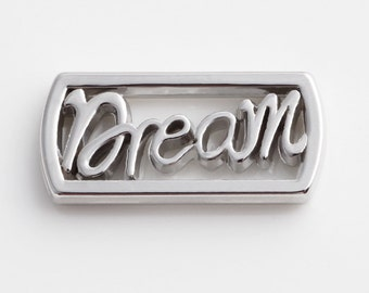Silver Dream Floating Charms for Living Lockets, Glass Memory Lockets