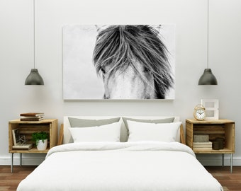 Icelandic Horse Photography | Equine Fine Art Print | Large Horse Prints | Horses Head | Icelandic Horse | Iceland | Home Decor
