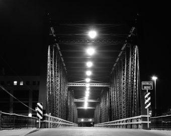 6th Street Bridge at night