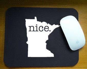 Minnesota 'Nice' Computer Mouse Pad