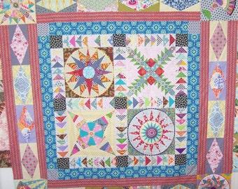 Square Dance quilt pattern