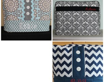MONOGRAM YOUR Handmade Sewing Machine Cover (Choose)