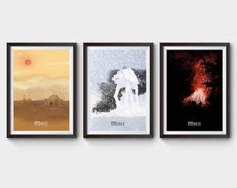 Star Wars Original Trilogy Prints