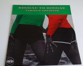 Rare Vintage 1972 Reggae To Reggae Various Artistes LP Vinyl Record Pama Bob Marley Max Romeo Slim Smith Ska