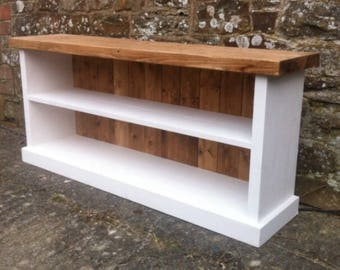 handmade country style shoe bench