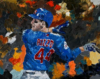 Anthony Rizzo Oil Painting Print