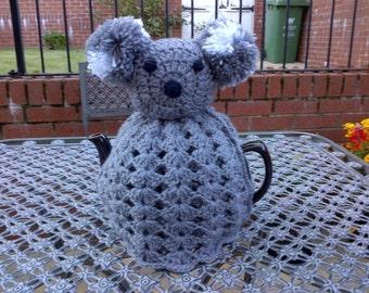 Hand Crochet Koala Bear Tea Cosy