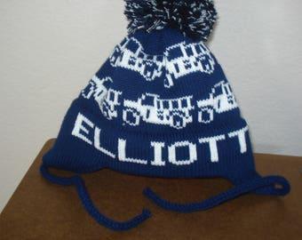 Personalized knit hat - Elliott