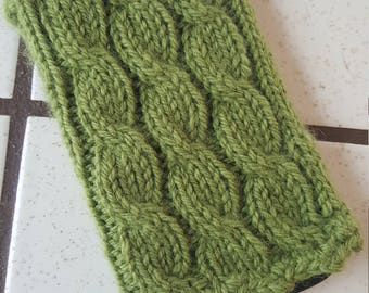 Cell Phone Cozy, Sleeve, Cover - Green