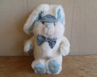 """Vintage""""Lil' Hoppity""""  Plush Bunny Rabbit  Commonwealth  1988  With Tag"""