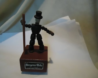 Vintage Wood Hangover Pete by Kohner Product, collectable, hang over