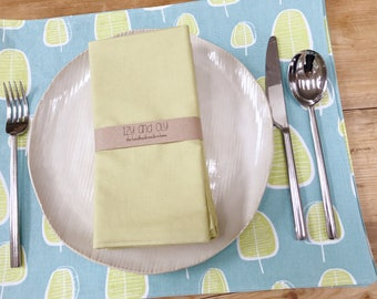 Cloth Placemats - Trees - Set of 4