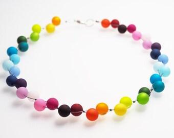 rainbow necklace polaris colorful