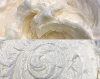 Vitamin C Facial Scrub & Unscented Facial Butter All Natural and Organic Handmade by SterlingSoapCo