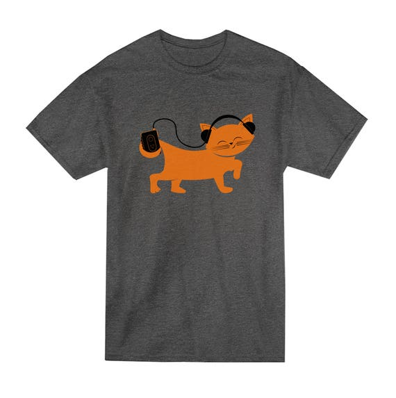 The Walkman Kitty Tee