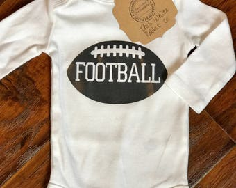Football Onesie/Child's Shirt, Boys, Girls, Gender Neutral, Ball