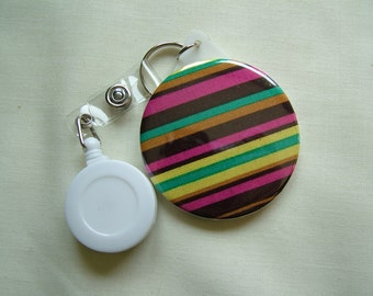 Micheal Miller Play Stripe Retractable sling mirror