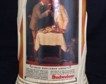 "Budweiser ""When Gentlemen Agree"" stien & tin CS359"