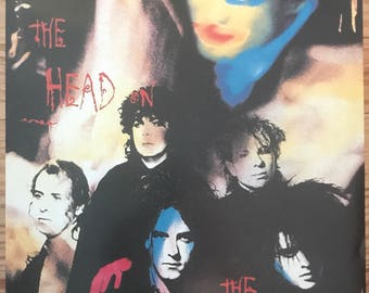 The Cure Robert Smith The Head On The Door poster print 24 x 33