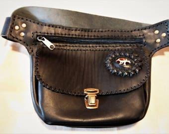 Riñoera Leather with Stone