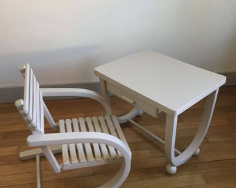 Desk and Chair child