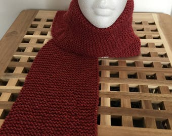 CLEARANCE Ready to ship Ladies Handknitted Scarf