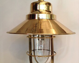 Amazing vintage industial pendant / hanging lamp (z51)